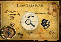Golden Coins of Titan Treasures