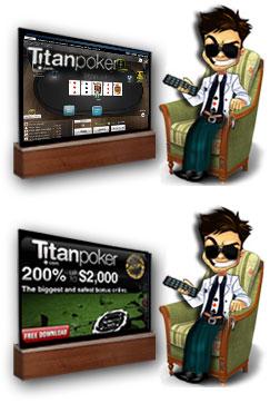 Отыгрыш Титан Покер бонуса