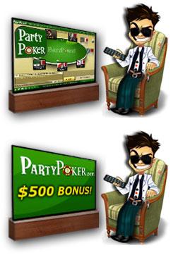 Пати Покер Бонус на депозит