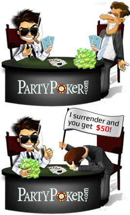 party poker free bankroll