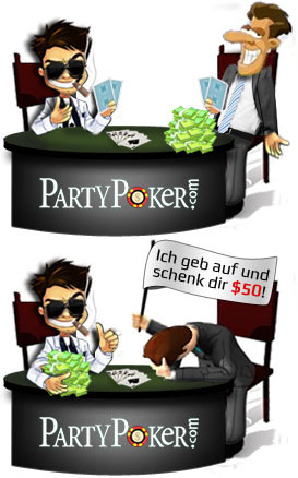 party poker startkapital
