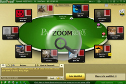 party poker test
