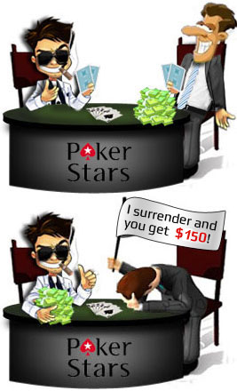 poker stars free money