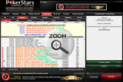 Pokerstars poker lobby