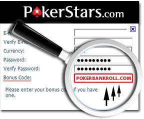 Рекламный код PokerStars – ввод