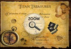 Золотые монеты Titan Treasures
